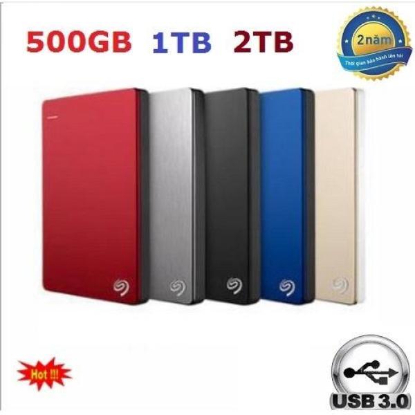 Bảng giá Ô cứng di động Seagate  250GB 320GB 500gb 1TB 2TB USB 3.0 Backup Phong Vũ
