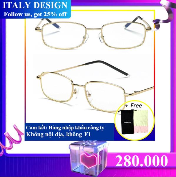 Giá bán Kính nhập khẩu ITALY DESIGN MẪU 191 (độ +100)