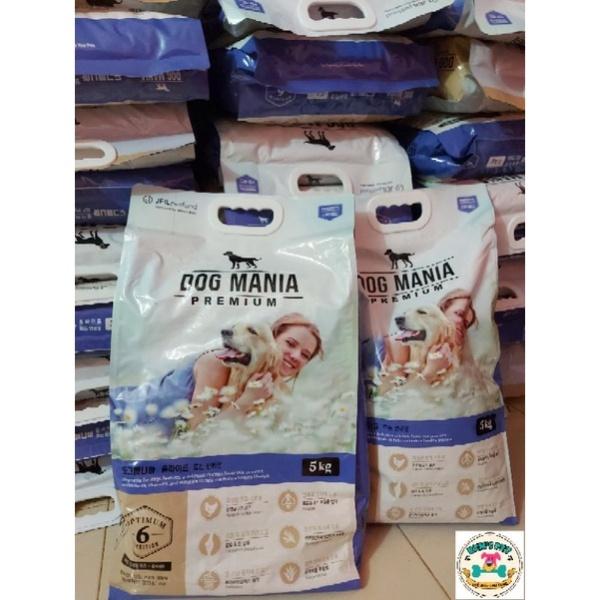 Hàng chuẩn 100 Thức ăn hạt Dog Mania 5kg