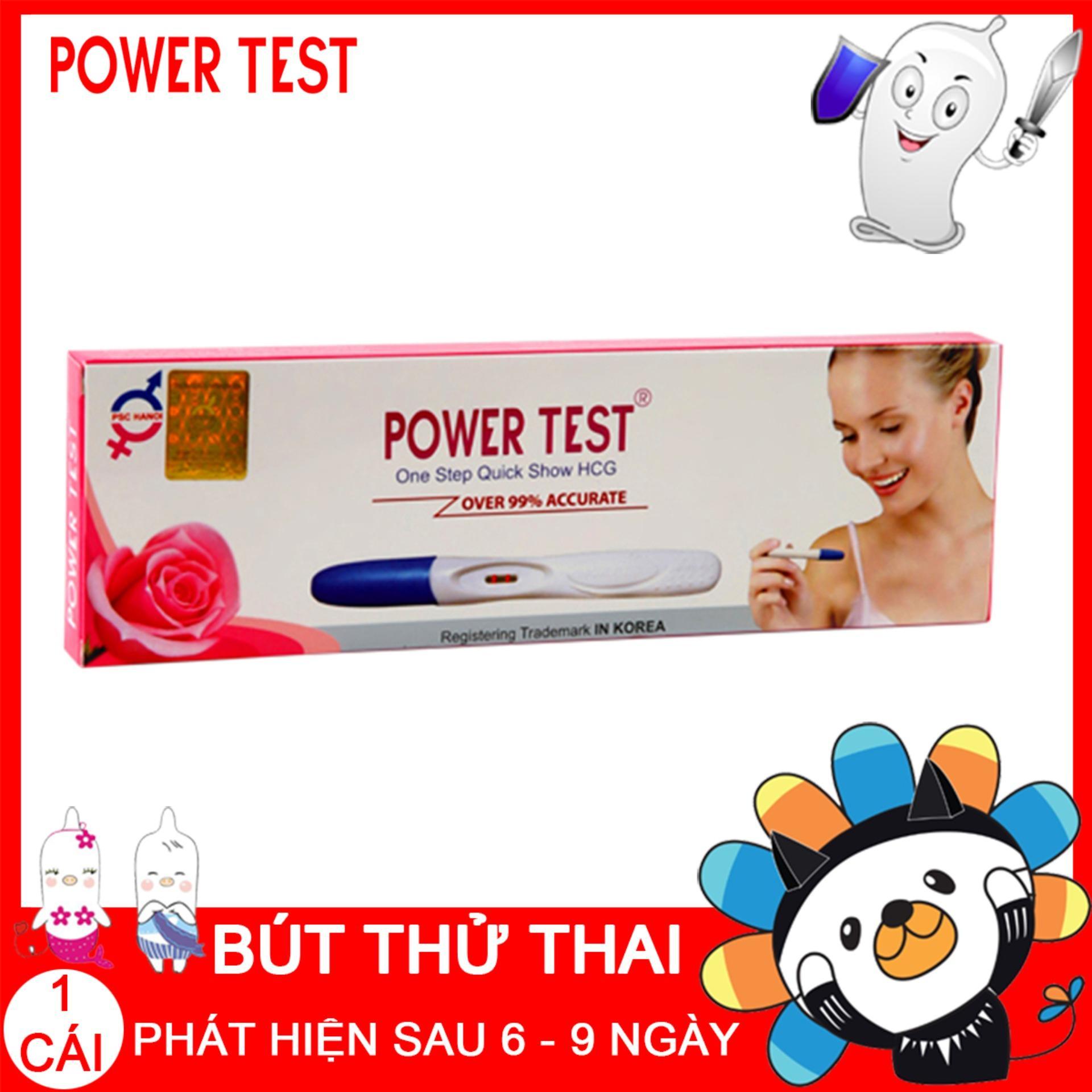 Bút thử thai POWERTEST phát hiện thai sớm chính hãng