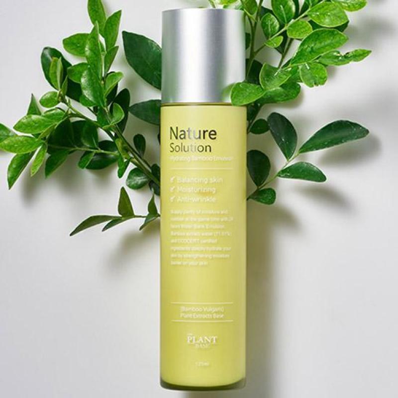 Sữa dưỡng ẩm tái tạo da The Plant Base Nature Solution Hydrating Bamboo Emulsion 125ML giá rẻ