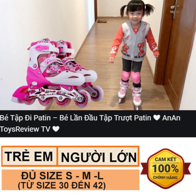 Phân phối Giày trượt patin trẻ em và người lớn Long Feng 906 có đèn - Hàng chính hãng - đủ size S M L