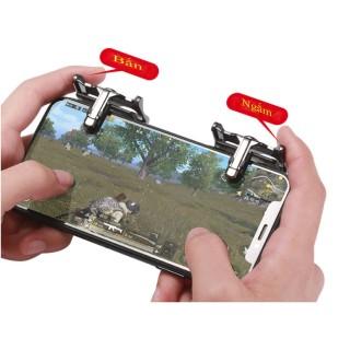 Bộ 2 Nút Bấm Cơ K10 Hỗ Trợ Chơi Game PUBG Mobile Ros Mobile 5