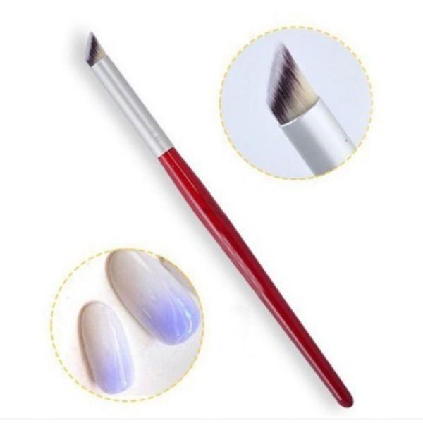 Cọ omber nail,bút làm omber đầu tròn lông chồn siêu mướt cao cấpGiá rẻ hủy diệt giá rẻ
