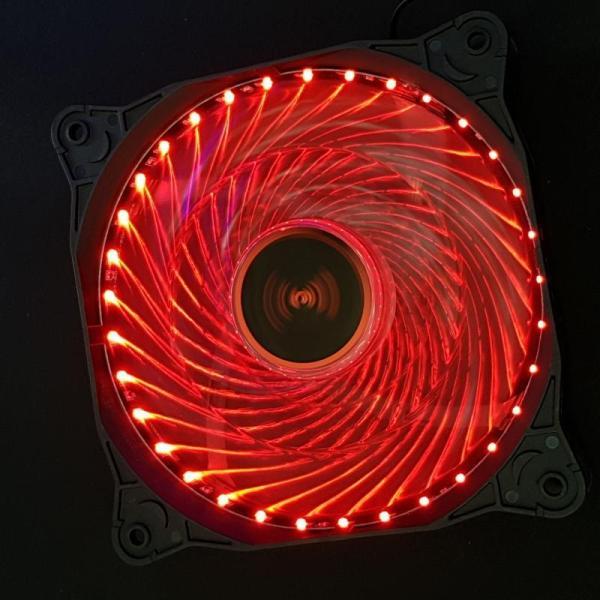 Bảng giá Quạt Case thông gió Fan led 12cm -36 bóng Phong Vũ