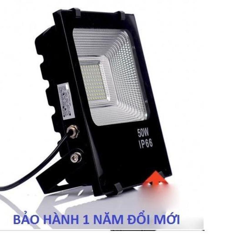 Đèn Led Pha 50W IP66 Ngoài Trời Chống Mưa Tuổi Thọ Cao 220V (Ánh sáng trắng)