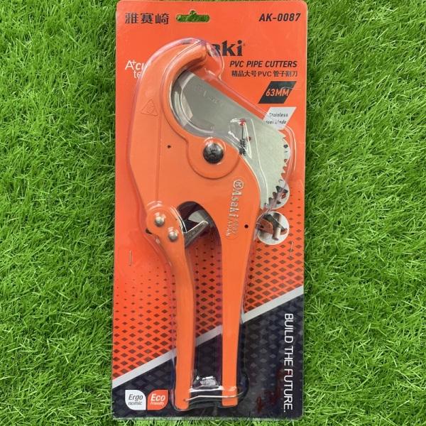 Kéo cắt ống nhựa PVC 63mm Asaki (lưỡi inox) AK-0087