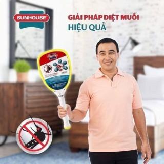 Vợt muỗi Sunhouse SHE 1690 và E200 nhựa ABS công suất cực mạnh cao cấp chính hãng bảo hành 1 tháng thumbnail