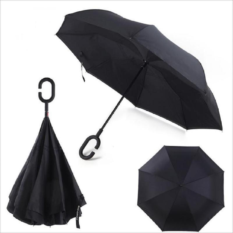 [HÀNG NHẬP KHẨU] - Ô, dù đi mưa gấp ngược Tự Động 2 Chiều Chống Tia UV Cao Cấp