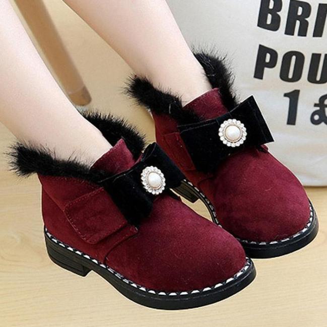 Giày Boot  cao cấp  cho bé gái phong cách hàn quốc - BB09 giá rẻ