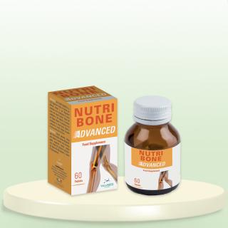NUTRI BONE ADVANCED _ Canxi hữu cơ + K2 + D3 _ Hộp 1 chai 60 viên thumbnail