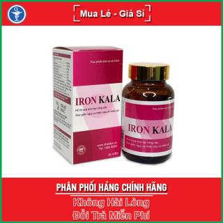 Viên Uống Iron Kala Hộp 30 viên - Hỗ Trợ Quá Trình Tạo Hồng Cầu & Giảm Nguy Cơ Thiếu Máu - Yespharmacy thumbnail