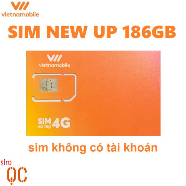 Sim 4G vietnamobile 180GB siêu thánh UP 0đ