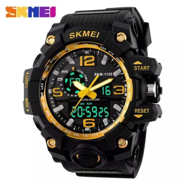 Nơi bán Đồng hồ nam SKMEI 1155 Thể Thao Full màu,Box