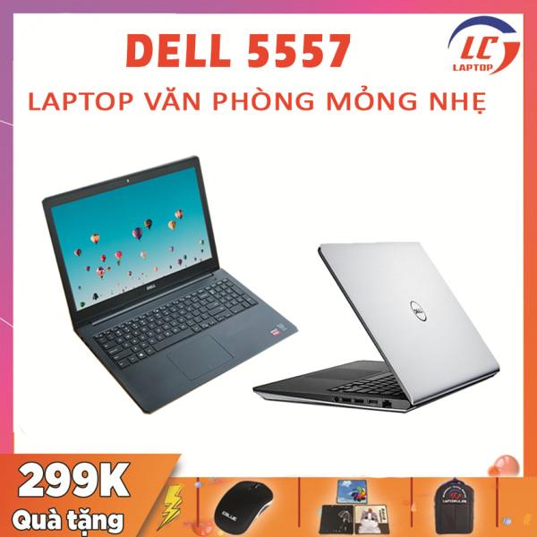 Bảng giá [Trả góp 0%]Dell Inspiron 5557 Làm Đồ Họa Chơi Game Giá Rẻ i5-6200U VGA Nvidia 930M-2G Màn 15.6 HD Laptop Gaming Phong Vũ