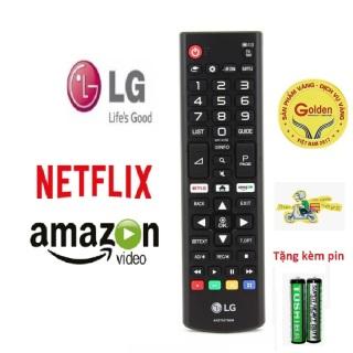 Điều Khiển TiVi LG AKB75095307 hàng tốt chính hãng zin theo máy tương thích với tất cả các dòng tivi LG smart internet hiện nay - Tặng kèm pin - Remote LG AKB75095307 zin thumbnail