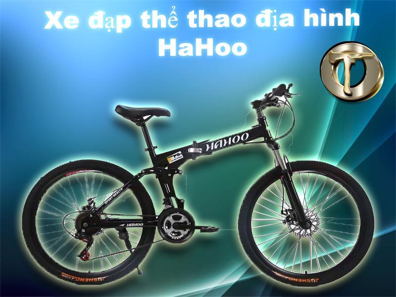 Phân phối Xe đạp thể thao địa hình gấp gọn HaHoo bánh căm [Bảo hành 12  tháng]