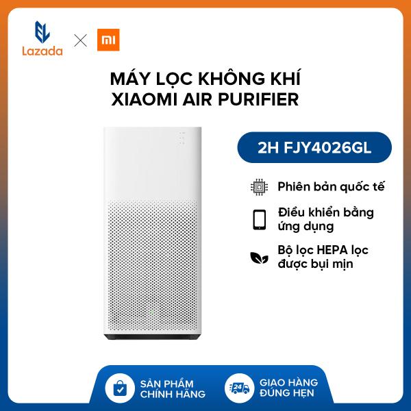 Bảng giá Máy lọc không khí Xiaomi Air Purifier 2H FJY4026GL - Phiên bản quốc tế - Điều khiển bằng ứng dụng & Thông báo khi cần thay bộ lọc & Giám sát chất lượng không khí - Bộ lọc HEPA lọc được bụi mịn - Hàng phân phối chính hãng