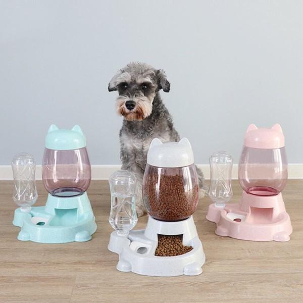 Bát ăn tự động cho chó mèo (kèm bình nước)