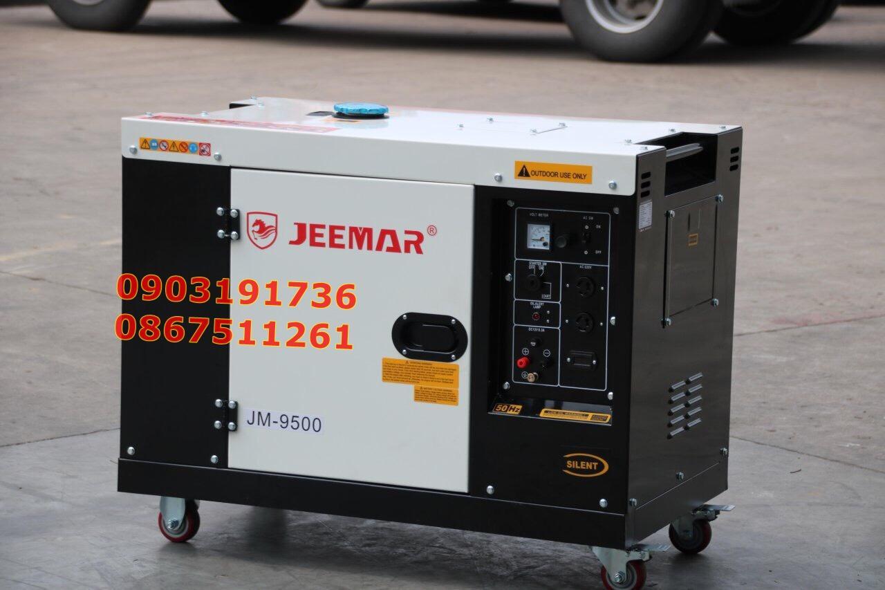 Máy phát điện JEEMAR - JM9500 siêu chống ồn - Máy phát điện JM 7kw