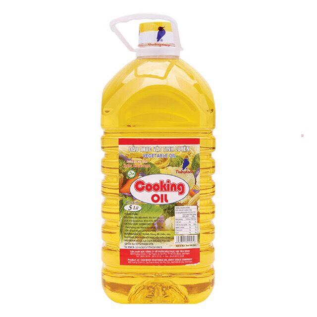 Dầu ăn Nakydaco Cooking oil 5 lít