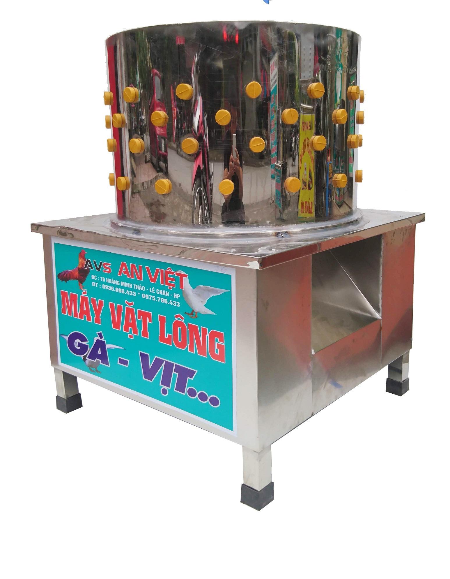 Máy vặt lông gà vịt G55 An Việt