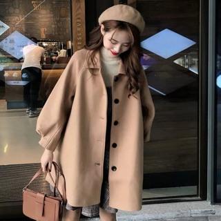 Áo khoác dạ nữ thời trang ấm áp thumbnail
