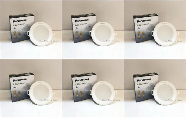 Bộ 6 Đèn Panasonic LED Downlight âm trần NNNC7596488 9W (Trắng/Vàng)