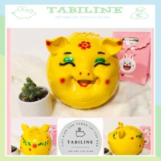 Lợn đất tiết kiệm đựng tiền MẮT HÍP HÀN QUỐC cute đẹp giá rẻ TABILINE LD17 thumbnail