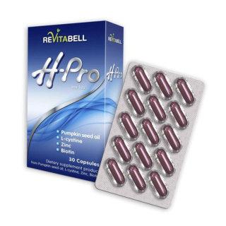 [ Nhập khẩu Tây Ban Nha] Hộp 30 Viên uống ngăn ngừa và giảm rụng tóc Revitabell - Hair Pro thumbnail