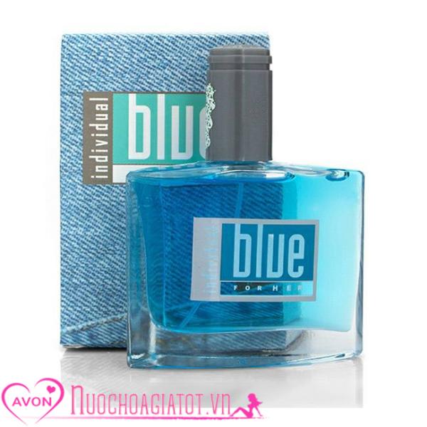 NƯỚC HOA NỮ AVON BLUE NỮ INDIVIDUAL FOR HER 50ML PHILLIPINE