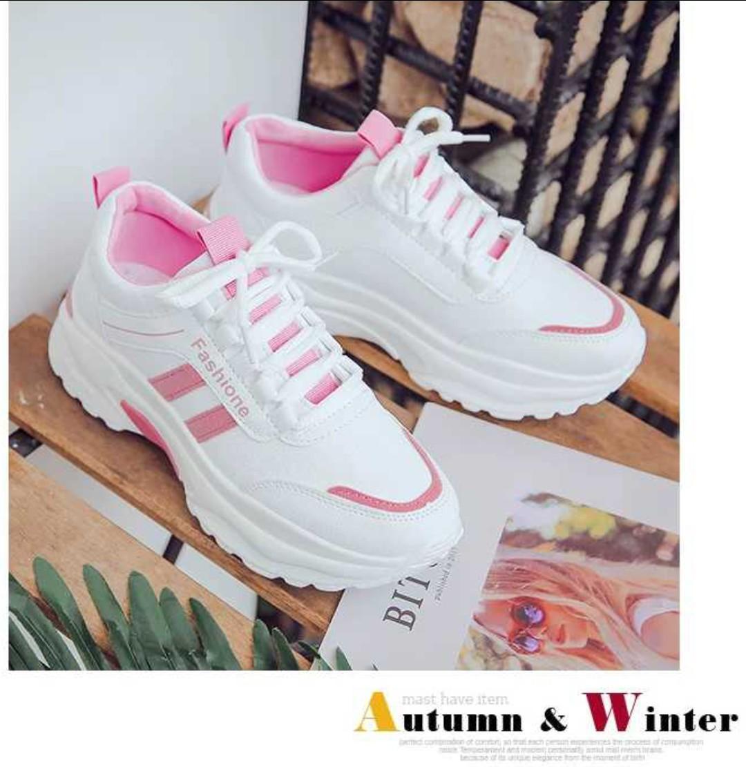 Giày thể thao nữ 3 màu (kiểu 4) Nhật Bản