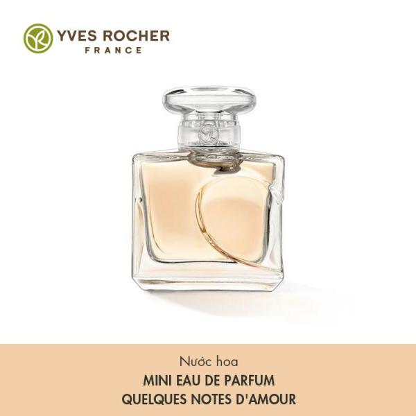 Nước Hoa Mini Yves Rocher Eau De Parfum Quelques Notes Damour 5ml