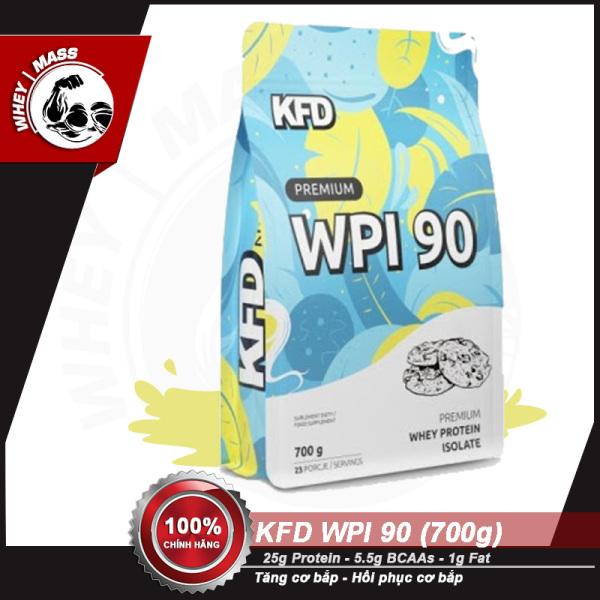 Tăng Cơ Bắp Hồi Phục Cơ Bắp KFD NUTRITION PREMIUM WPI 90 700g (23 servings) - Từ Châu Âu giá rẻ