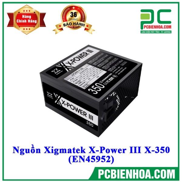 Bảng giá NGUỒN MÁY TÍNH XIGMATEK X-POWER X-350 350W MAI HOÀNG Phong Vũ