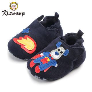 Kidsheep Giày trẻ em Giày cho trẻ mới biết đi Giày bông bé Làm dày và giữ ấm vào mùa đông
