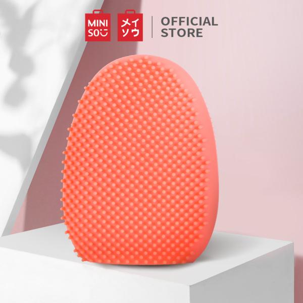 Máy rửa mặt Miniso chất liệu Silicone làm sạch nhẹ nhàng không gây rát da (nhiều màu) - Hàng chính hãng cao cấp
