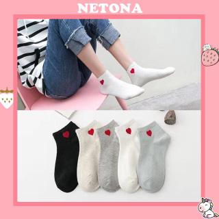 Tất nữ cổ ngắn trái tim Hàn Quốc giá rẻ TN07 thumbnail
