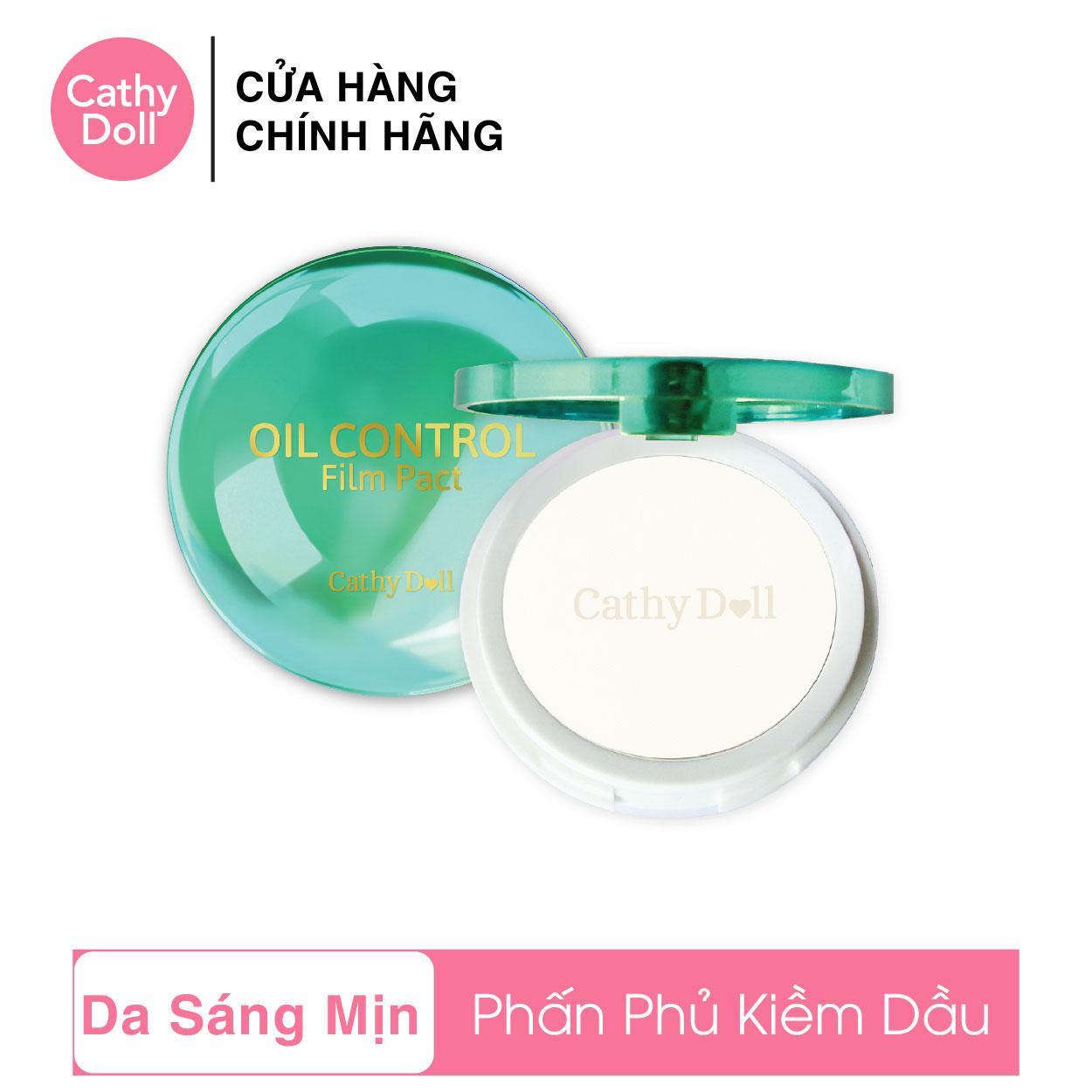 Offer Ưu Đãi Phấn Phủ Kiềm Dầu Cathy Doll Oil Control Film Pact Translucent 12g