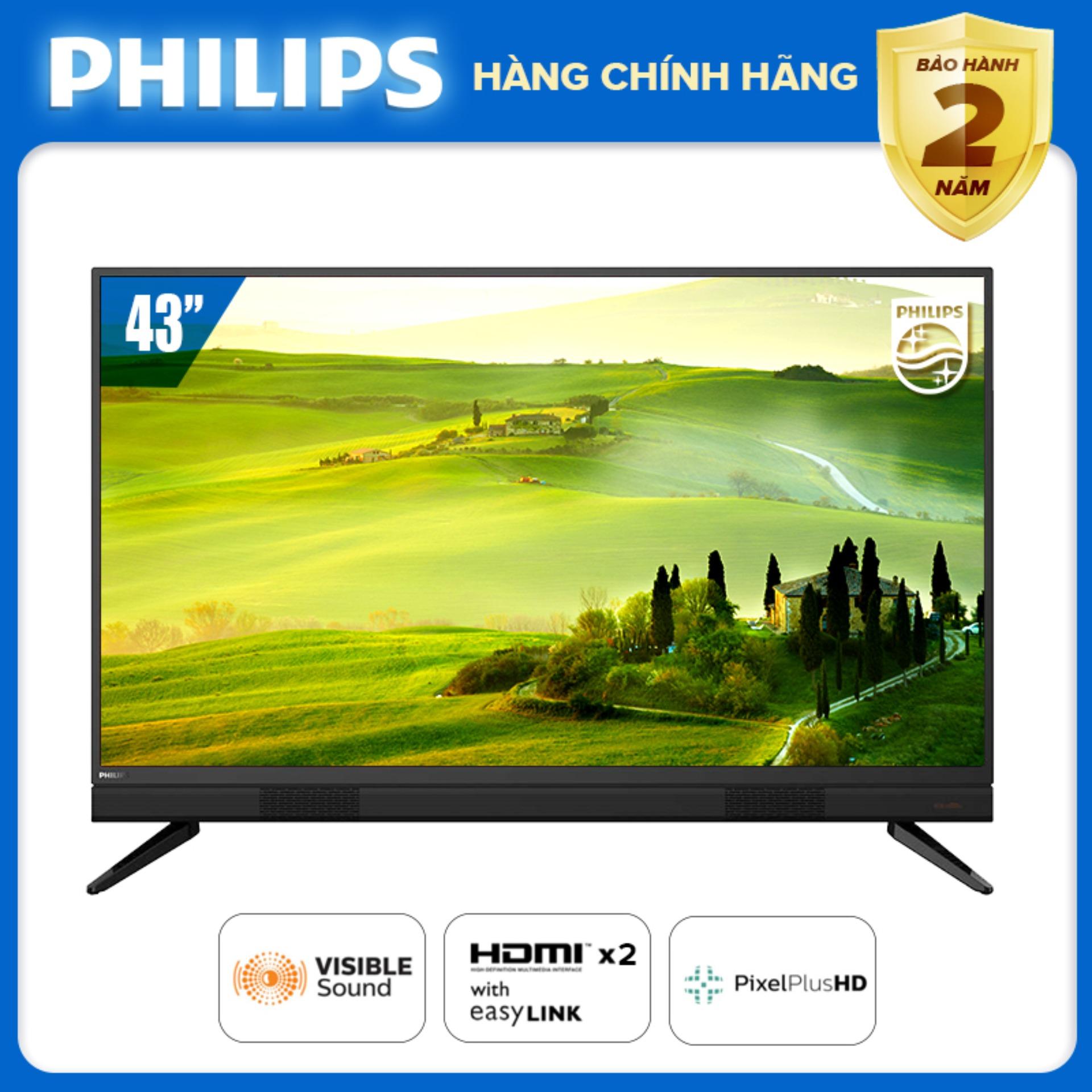 Bảng giá [ĐẶT HÀNG TRƯỚC] TIVI PHILIPS 43 INCH LED FULL HD 43PFT5583/74 (DIGITAL TV DVB-T2 HÀNG THÁI LAN) TIVI GIÁ RẺ TẶNG QUÀ USB - BẢO HÀNH 2 NĂM TẠI NHÀ