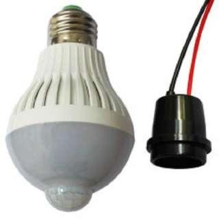Bóng đèn cảm ứng hồng ngoại chuyển động thông minh 9w. tự động mở đèn khi có người di chuyển và thiếu ánh sáng - hình 2