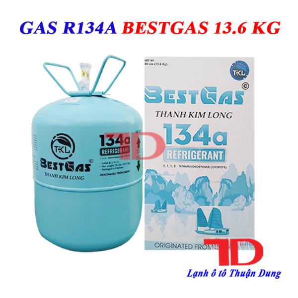 Gas lạnh ô tô R134 BESTGAS 13.6KG, Môi chất lạnh R134