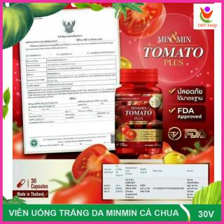 Viên Uống Trắng Da Cà Chua Thái Lan thumbnail