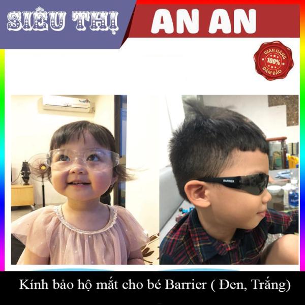 Giá bán Kính bảo hộ kính chống dịch cho bé BARRIER trắng đen chống chói chống virut Việt Nam sản xuất