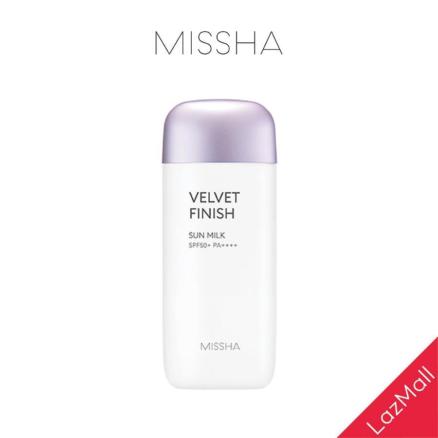 Kem Chống Nắng MISSHA All Around Safe Block Velvet Finish Sun Milk SPF50+/PA++++ 70ml nhập khẩu