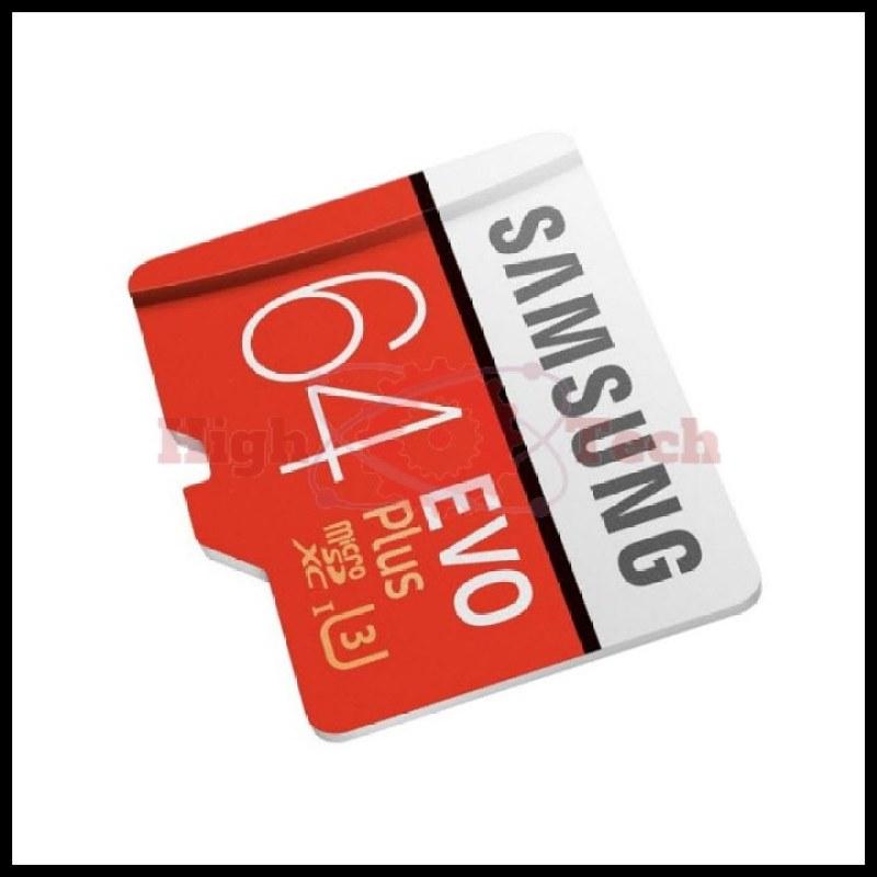 Thẻ nhớ Samsung EVO Plus 64GB tốc độ cao up to 100MB-s (Đỏ) thẻ + Hộp nhựa (Hàng TRAY)