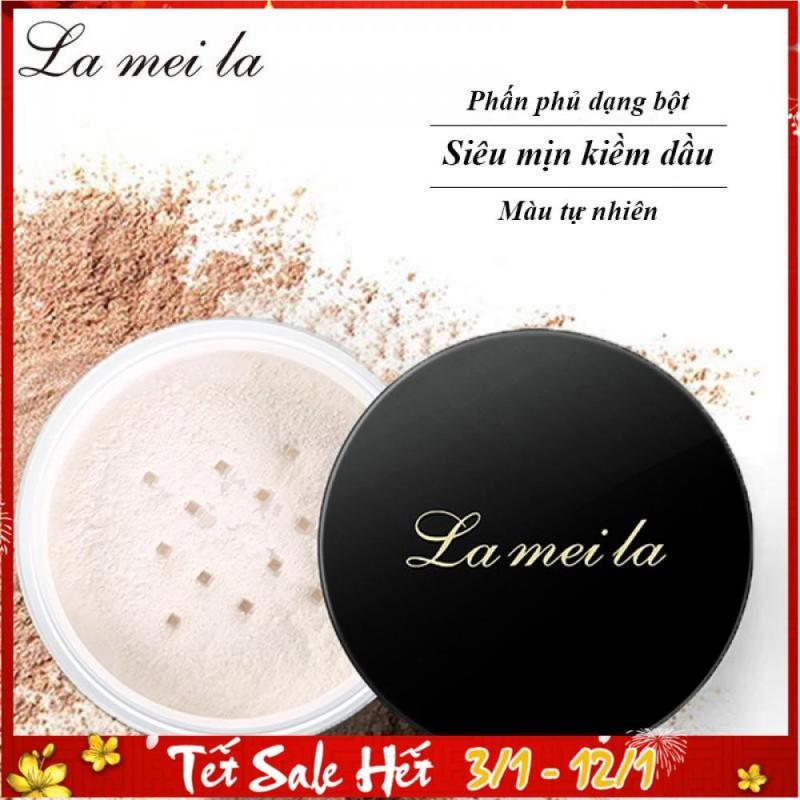 Phấn phủ dạng bột La Mei La siêu mịn kiềm dầu màu tự nhiên 6g TK-PP062