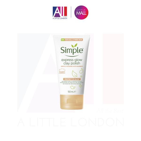 Sữa rửa mặt Simple Protect N Glow Express - 150ml (Bill Anh)