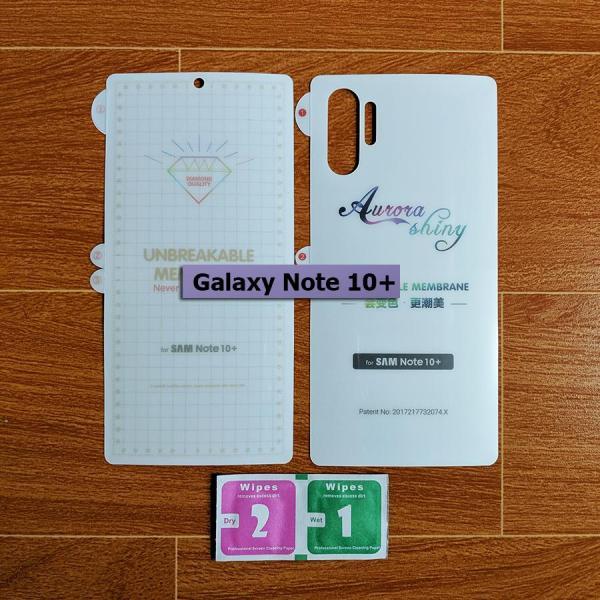 Giá Dán chống xước PPF Galaxy Note 10 Plus (2 mặt)