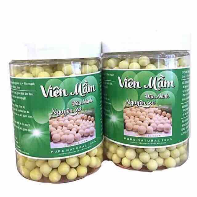 1 hũ viên mầm đậu nành nguyên sơ tăng sz vòng 1 nhập khẩu